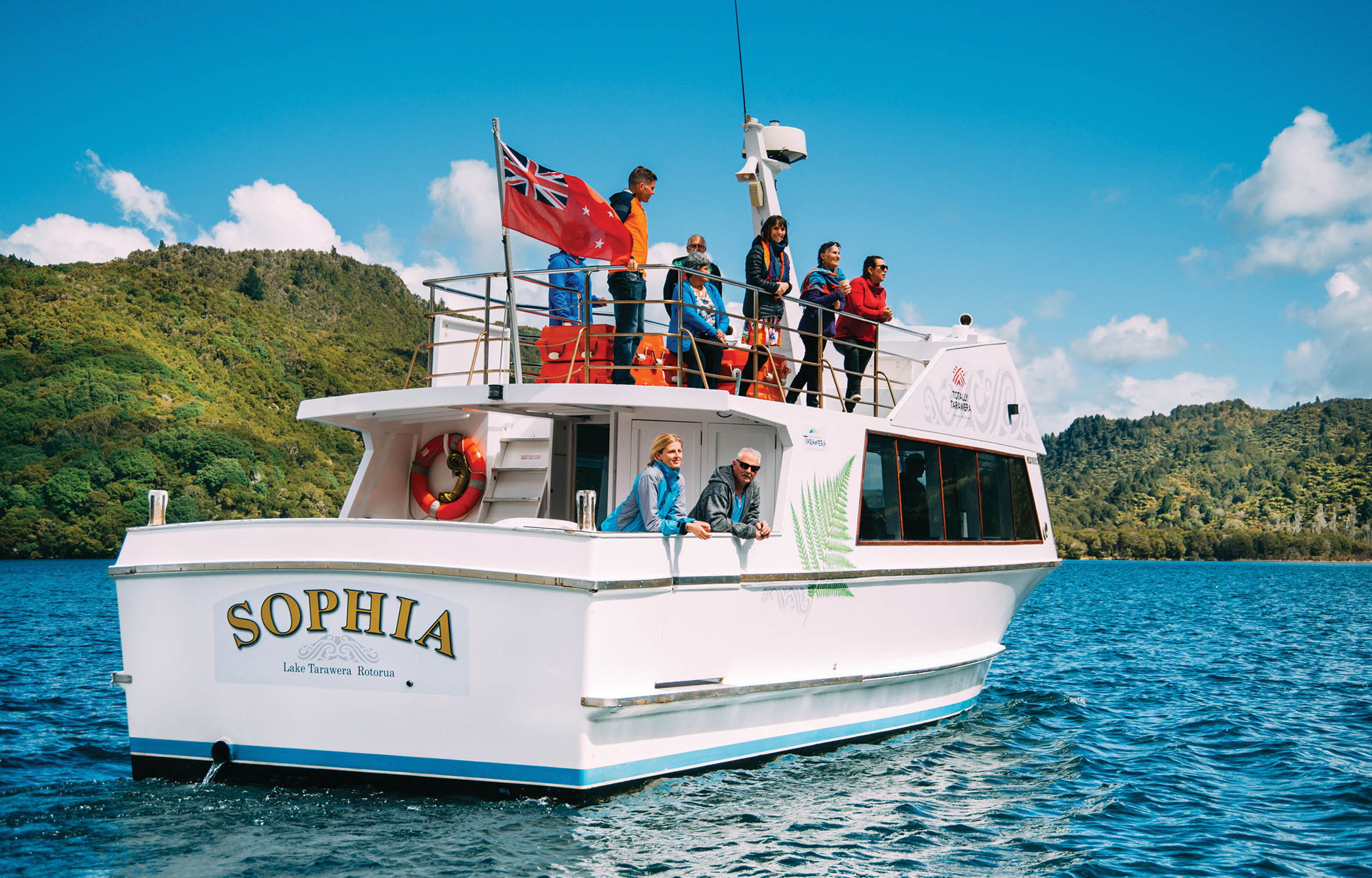 Lake Cruise with Totally Tarawera