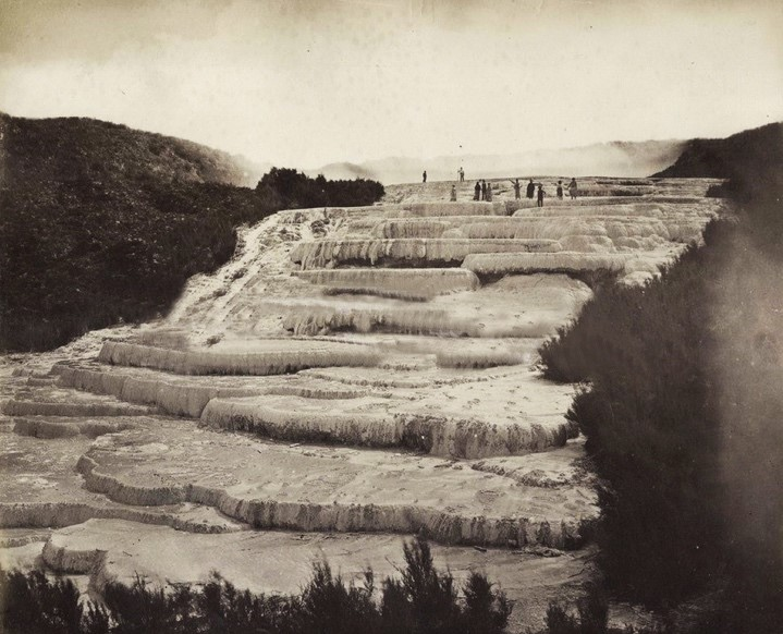 The White Terraces, Tarawera